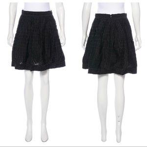 ZAC POSEN Patterned Mini Skirt